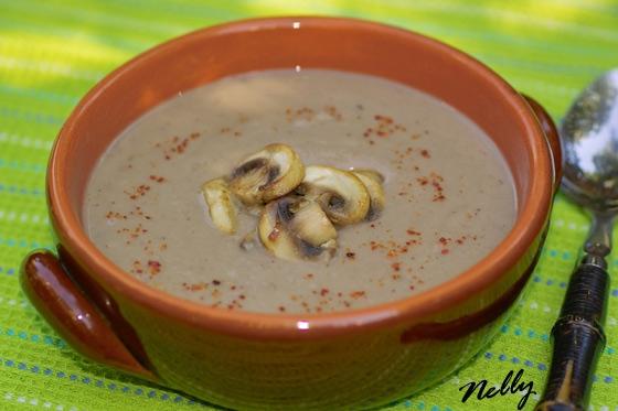 Суп с каштанами и топинамбуром