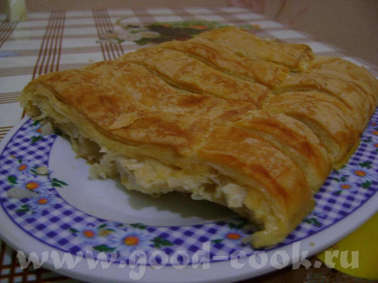 Пирог из покупного теста рецепт
