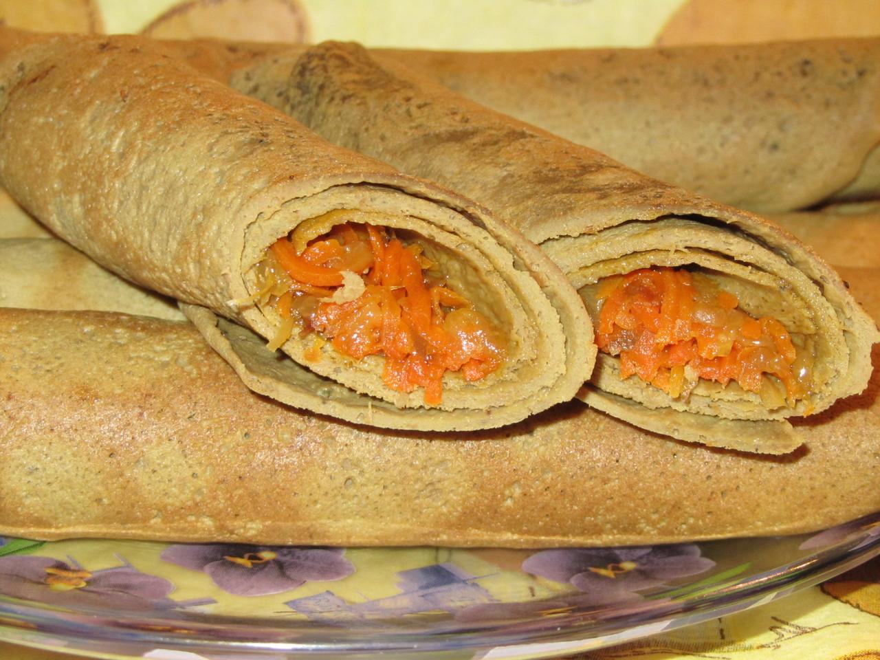 Печёночные блинчики рецепт пошагово