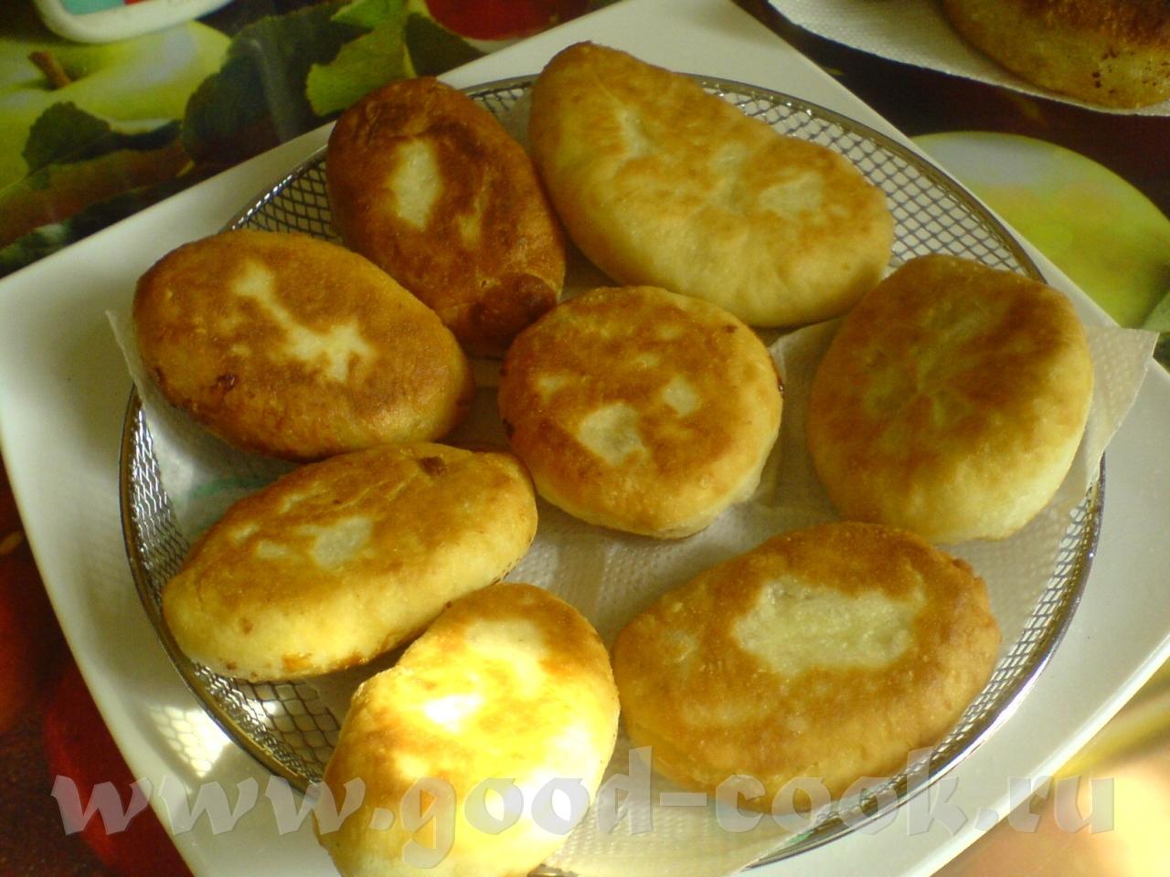 Пирожки на простокваше в духовке рецепт пошагово