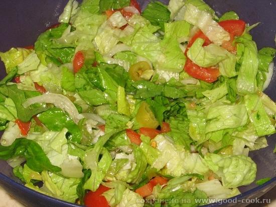 Рецепты праздничных салатов без майонеза с фото