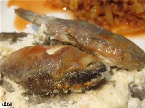 А еще на ужин у нас были наши любимые Караси в сметане