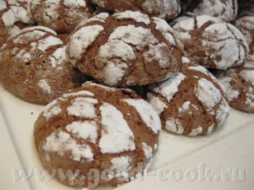 Следующее печенье на нашем форуме мелькало неоднократно, точно могу сказать у Ayn ( Шоколадное пече...