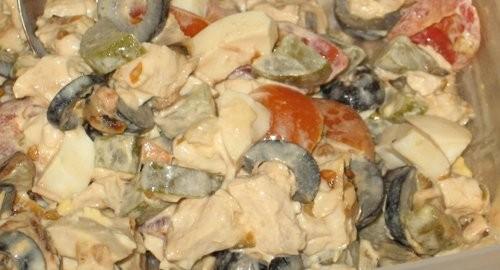 Салат из курицы с корейской морковкой  пошаговый рецепт с