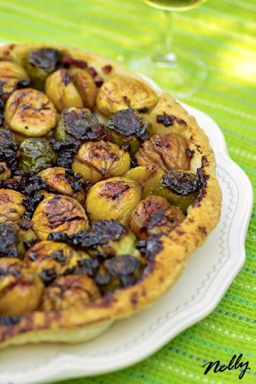Попробовала с каштанами новое блюдо «Tatin» с брюссельской капустой, каштанами и беконом Источник С...