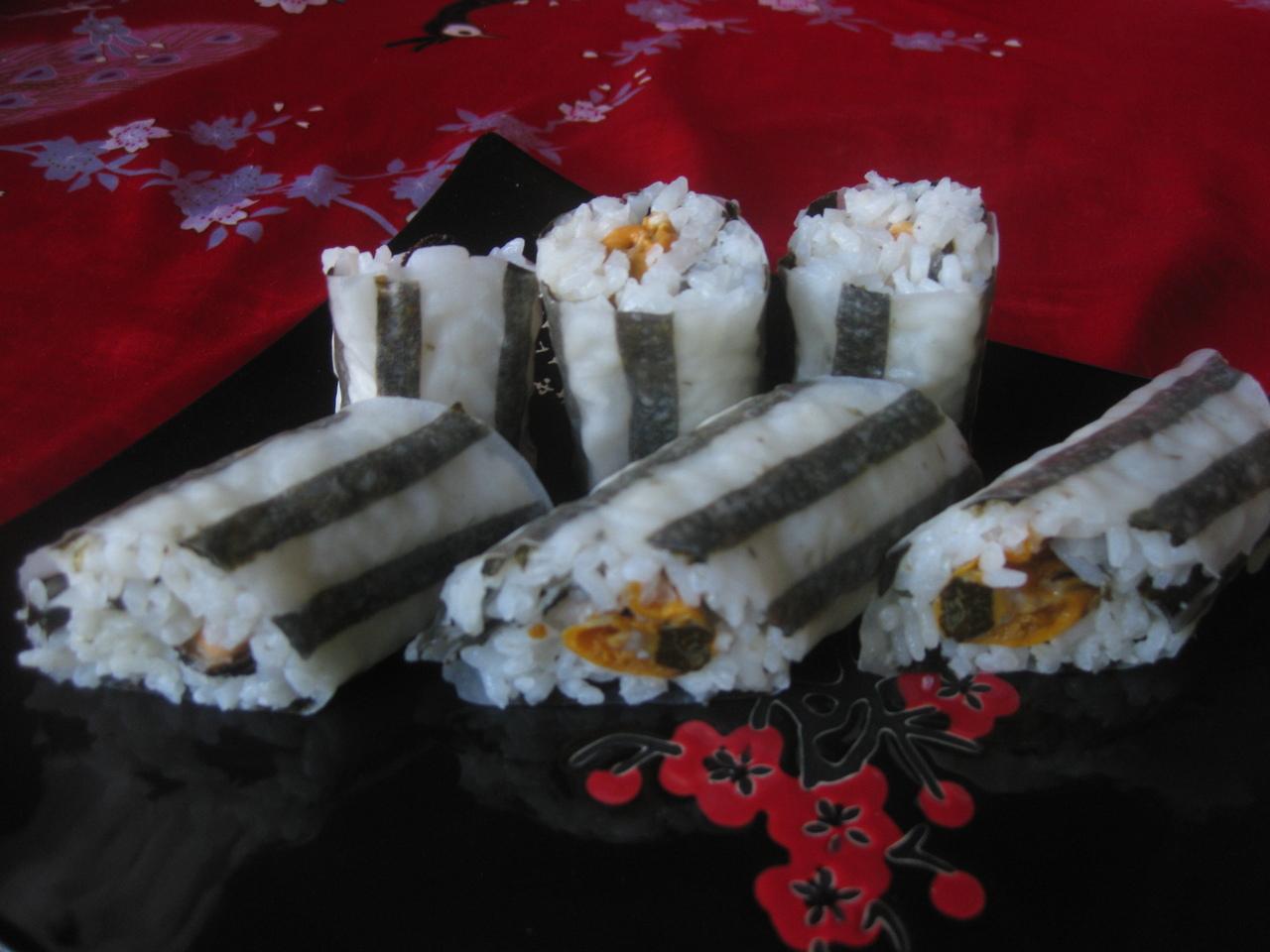 Роллы в домашних условиях фото рисовая бумага