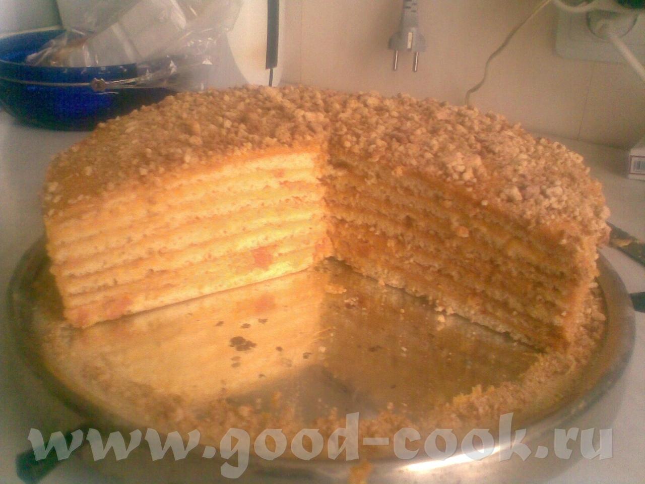 Торт кураги рецепт