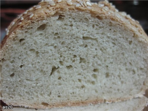 Хлеб деревенский (в хлебопечке или в духовке) рецепт из книжки к хлебопечке Мулинекс Ингредиенты (б... - 2