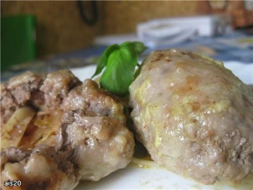 Ну и напомню вам мой рецепт очень вкусного украинского блюда, правда я его по прежнему делаю не из...