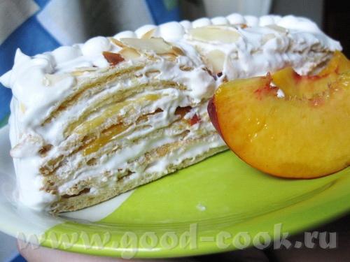 Тортик вафельно-фруктовый - 2