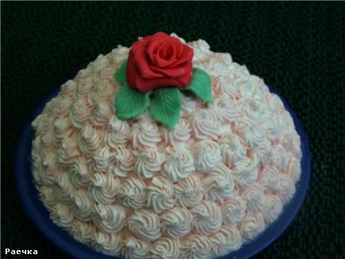 Как украсить торт для девочки на день рождения своими руками из крема 79