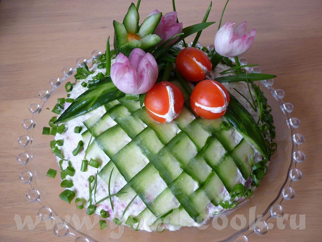 Фото оформления салатов на свадьбу