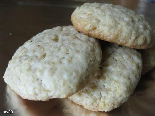 Наташа, а я еще одну спасибку несу Овсяное печенье На фото оно правда бледноватое получилось, на са...