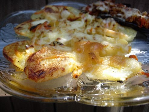 рецепт картошки с майонезом в духовке.