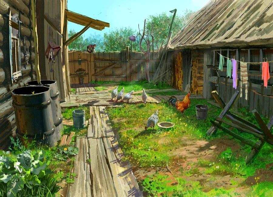 Обустройство дома в деревне своими руками