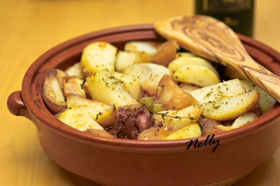 Жаркое из баранины с картофелем