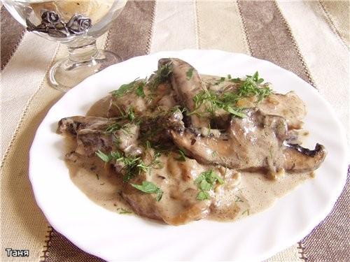 Суп с фасолью Куриное мясо в сливках с портобелло Гарнир из картофеля с луком,пряный Ароматная куро... - 2
