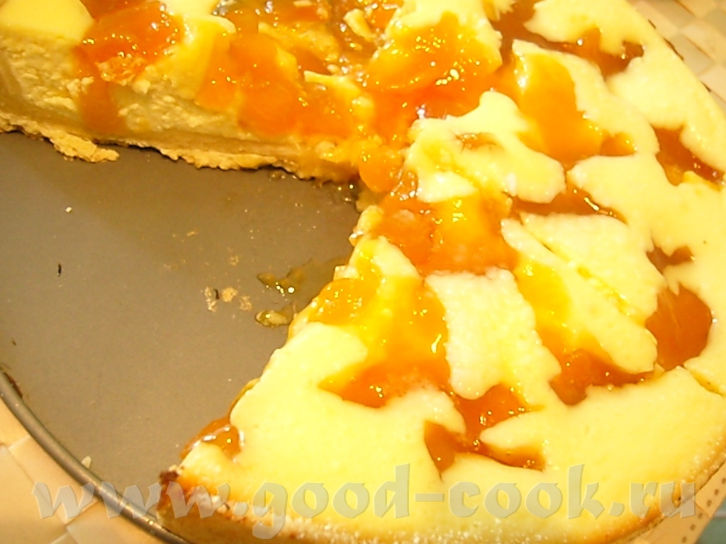 28Рецепт творожного пирога с персиками консервированными