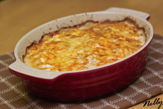 Картофельный гратен - Gratin dauphinois