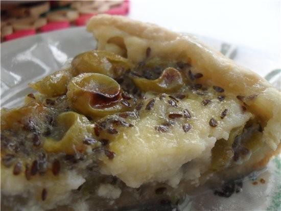 Пирог с крыжовником - 2