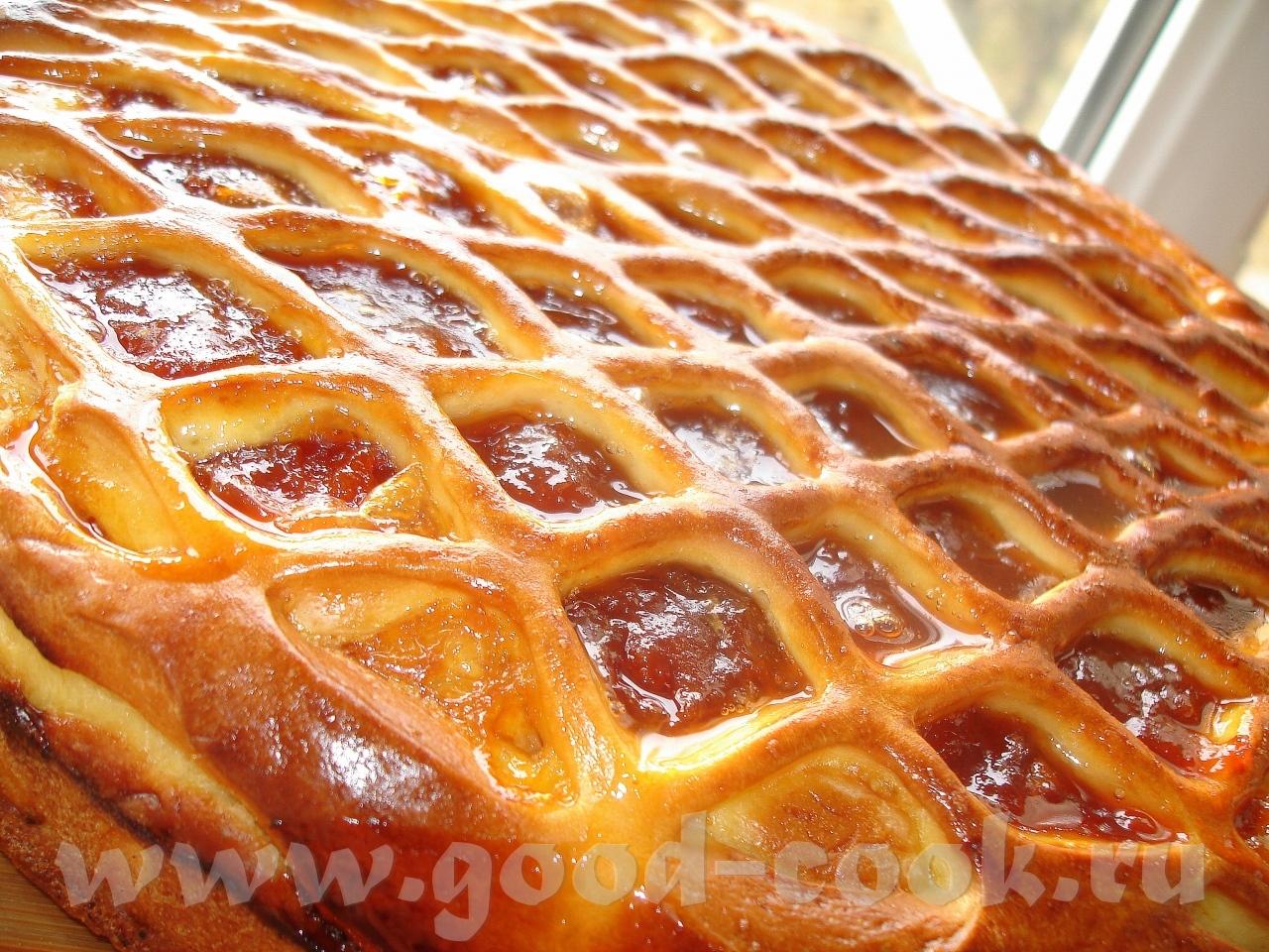 Пироги с открытой начинкой