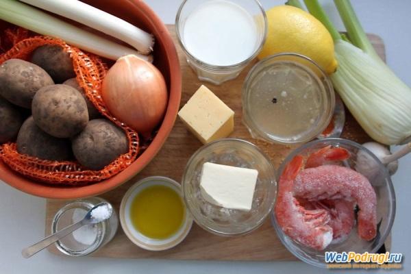 Рецепт супа «Вишисуаз»