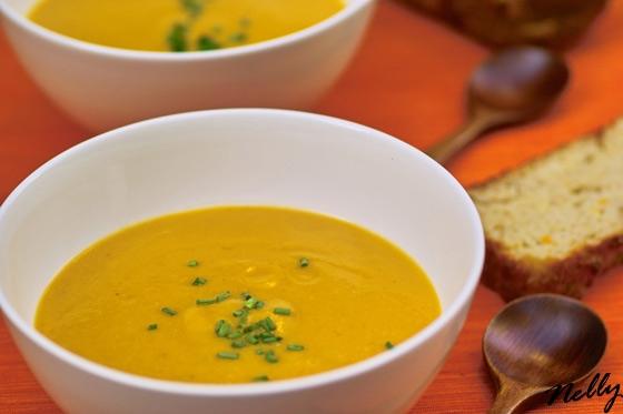 Идею этого супа позаимствовала у Юли , но она в своём рецепте использует карри, а я не люблю эту пр... - 2