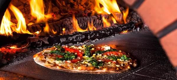 Пицца в барбекю с русской печью