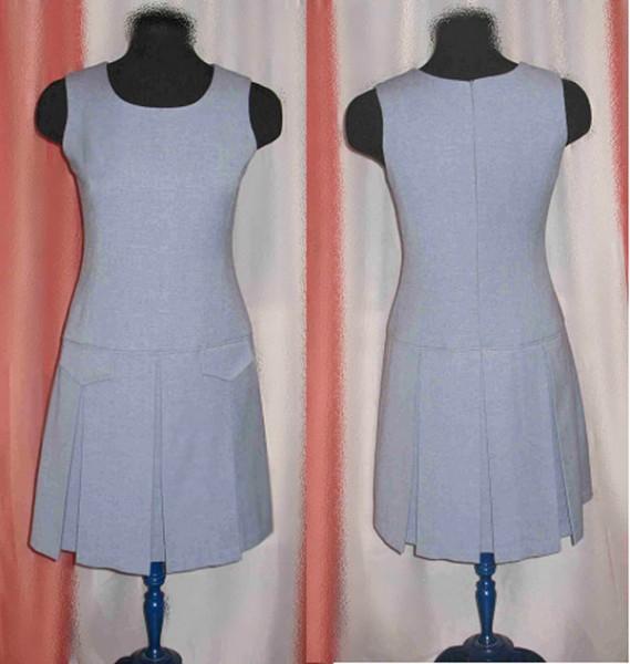 Выкройка платья от шанель - Выкройки одежды для детей и взрослых.