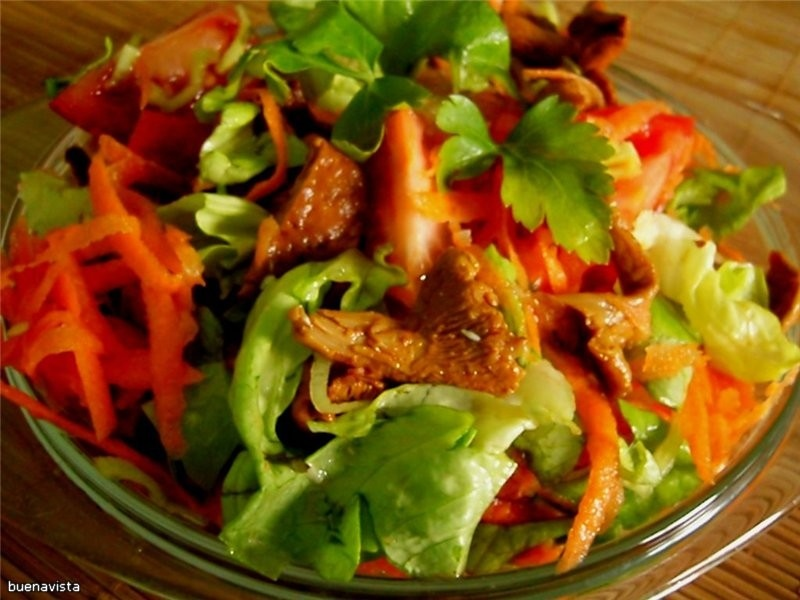 Низкокалорийные салаты простые рецепты простые и вкусные