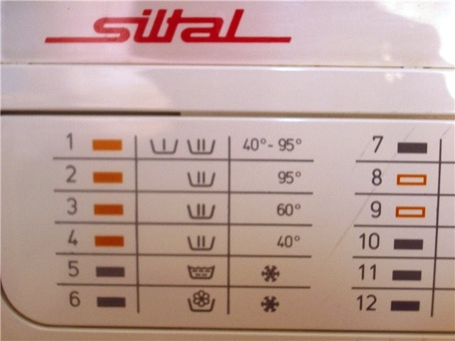 Инструкция стиральной машины siltal