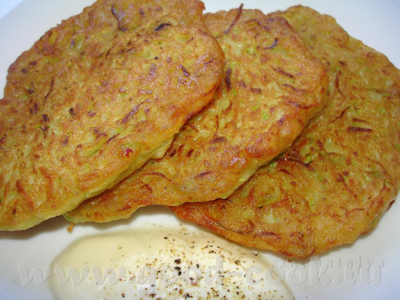 драники картофельно кабачковые
