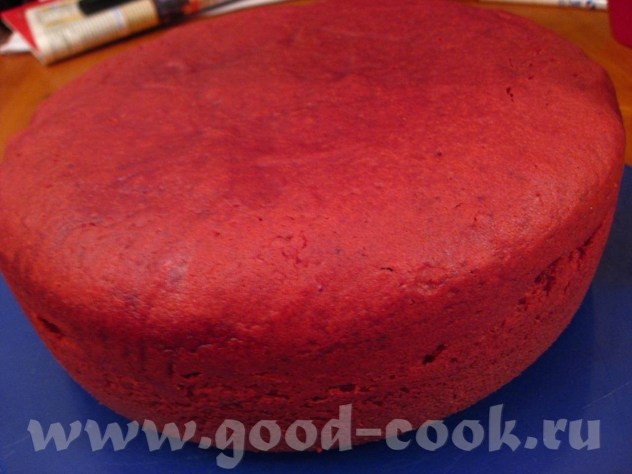 Красный бархат торт в мультиварке рецепт с фото пошагово
