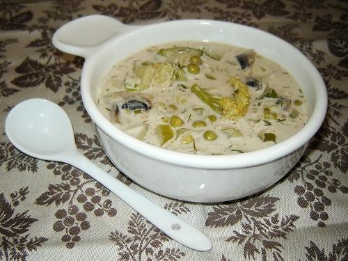 Овощной сливочный суп *12 часов