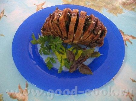 Сегодняшний ужин: Говяжий язык с травами от innok
