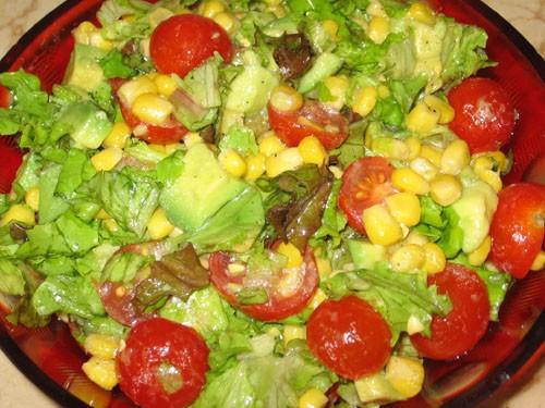 Салаты с авокадо и кукурузой рецепты 94