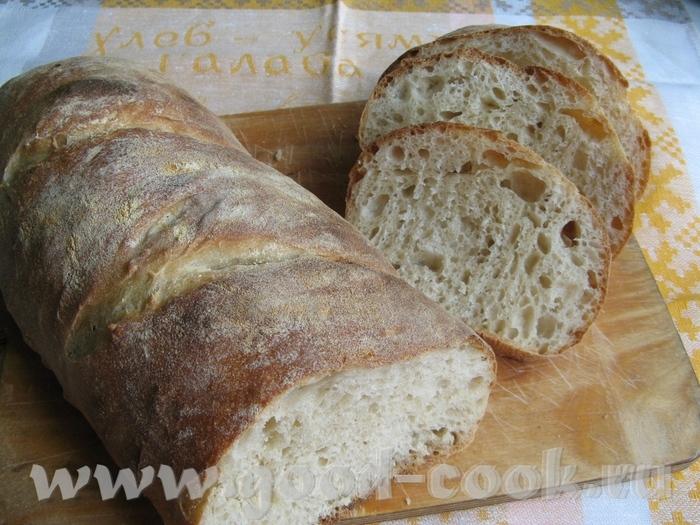 Я все-таки завершу тему деревенского хлеба на ферментированном тесте или на старом тесте - 3