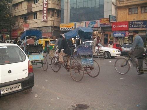 несколько фотографий индийских улиц