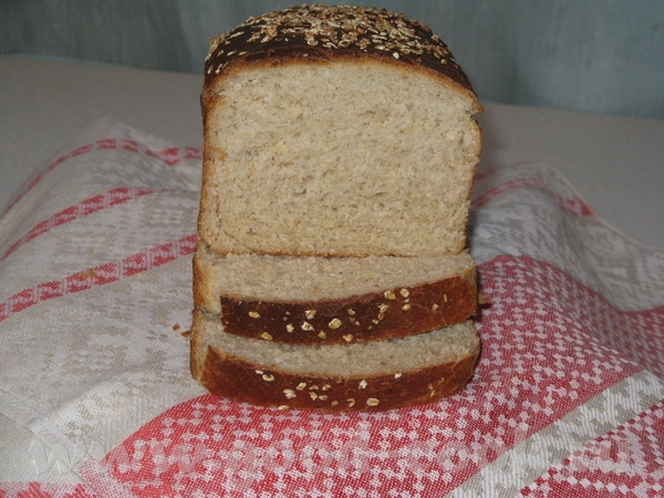 Испекла сегодня овсяный хлеб от Миши - 2