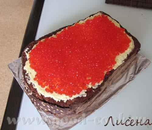 Девочки, вот мой первый торт в виде чего-либо, в данном случае в виде бутерброда Понимаю, что есть...
