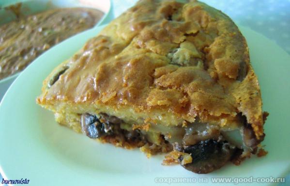 """26.7.11 - 29.7.11 Блюда от Лайла, """"Простецкая кухня"""": Бабушкин пирог Пирог очень вкусный, действительно что-то среднее... - 2"""