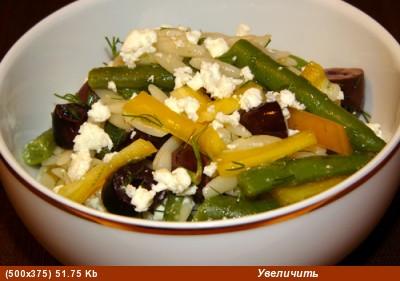 Раз пошел разговор об орзо, то дам быстрый и простой рецепт салата с этим видом макаронных изделий