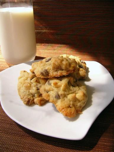 Всем любителям печенья с шоколадом рекомендую