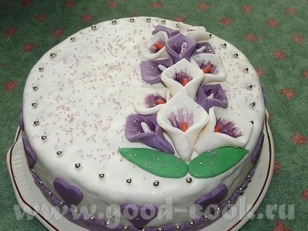 А вот и мой тортик