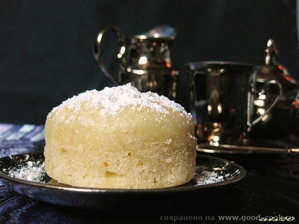 Паровые творожные кексы