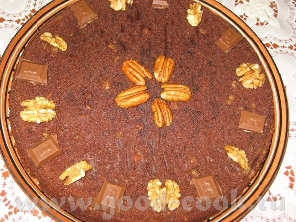 Творожно-шоколадный торт 125 гр крем-чиза 50 гр мягкого масла 1/2 стакана сахара 1/2 стакана коричн...