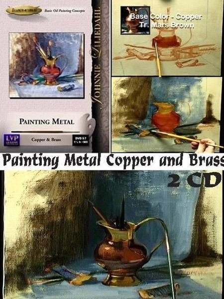 В видео показывается как рисовать металлические поверхности на примере написания натюрморта (привод...