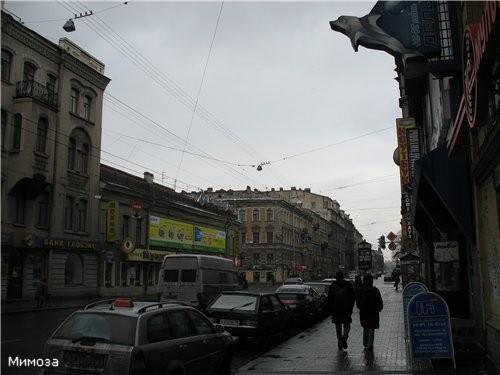Продолжение Владимирского проспекта - Загородный проспект
