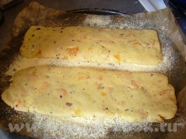 рассыпчатые бискотти из-за добавления кукурузной муки и небольшого количества масла - 2