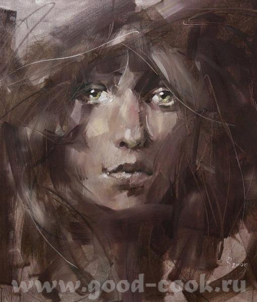 Посмотри как фон делает Renata Brzozowska ================================ Мне нравится её картины...